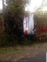Accident in Odaia.