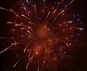 Foc artificii.