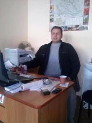 Sorin, administratorul firmei Lavcom. Foto: Facebook