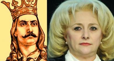 """Viorica Dăncilă: """"Ștefan cel Mare a domnit doar 7 minute, de la 14:57 la 15:04!"""""""
