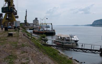 Port Turnu Magurele.