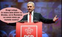Liviu Dragnea dezvăluie cu cine ține PSD-ul la meciul de azi.
