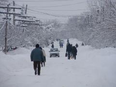 Iarna in Turnu-Magurele (Odaia)